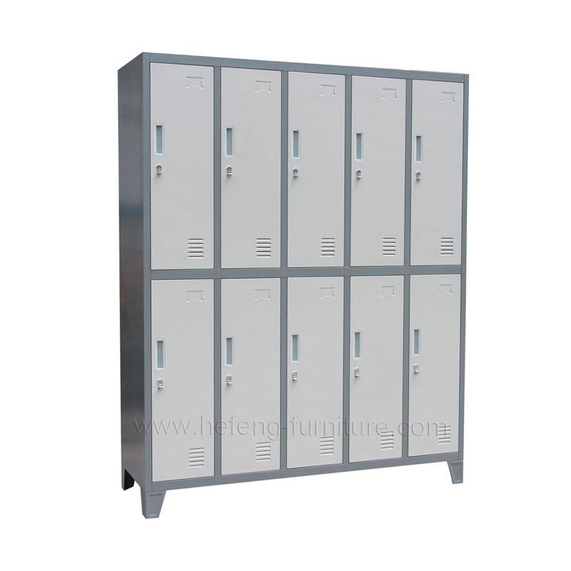 Locker Metalico de 10 Puertas