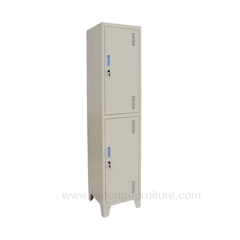 Locker Metalico de 2 Puertas