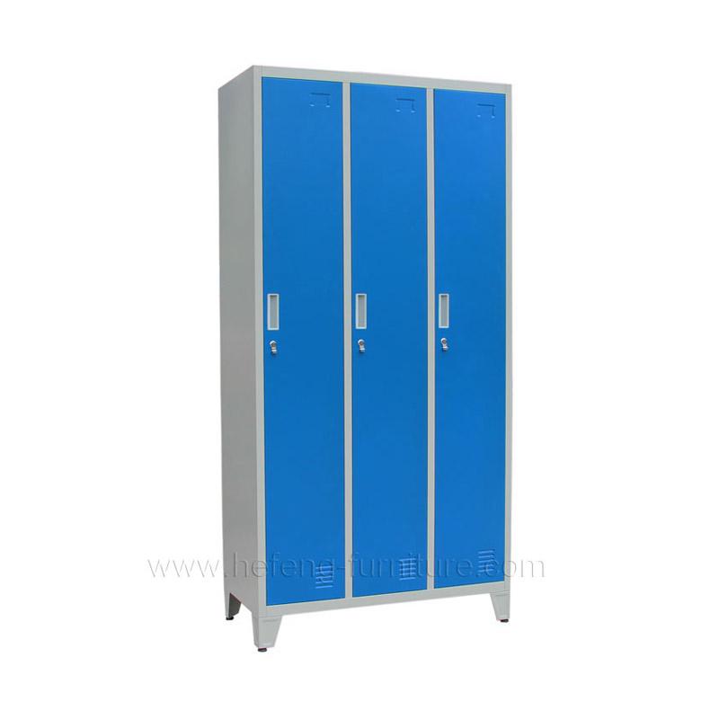 Lockers 3 Puertas Largas