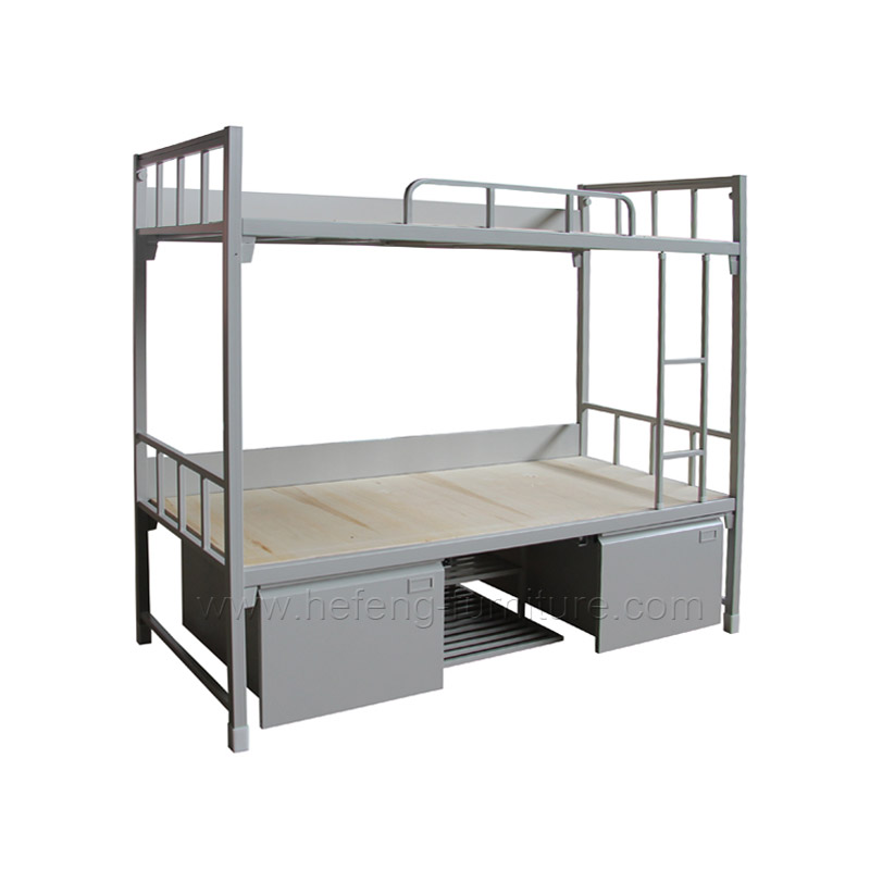 litera de metal camas