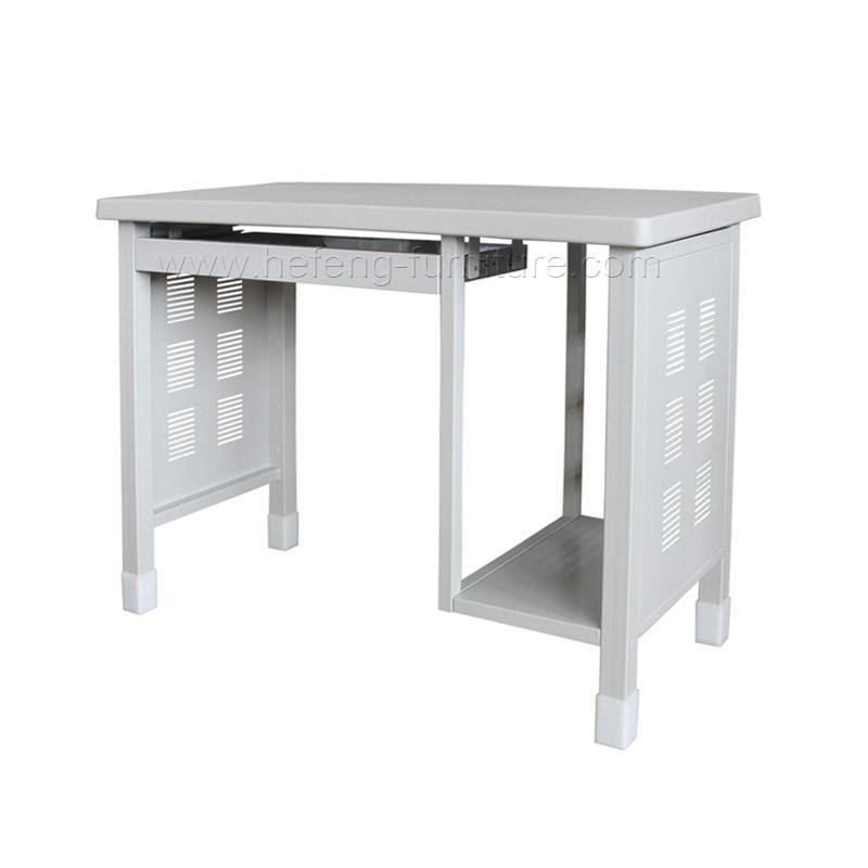 mesa de ordenador de metal