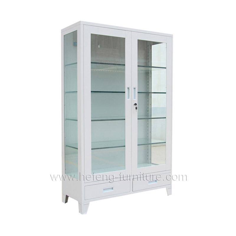 Mueble vitrina de cristal